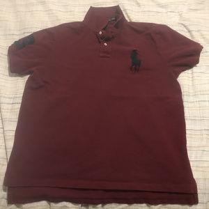 Men's Size-XL Custom Fit Ralph Lauren Polo Shirt